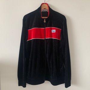 FILA Front Zip Velour Jacket
